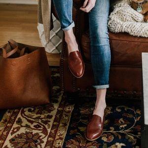 NWOT Madewell // Frances Leather Loafer